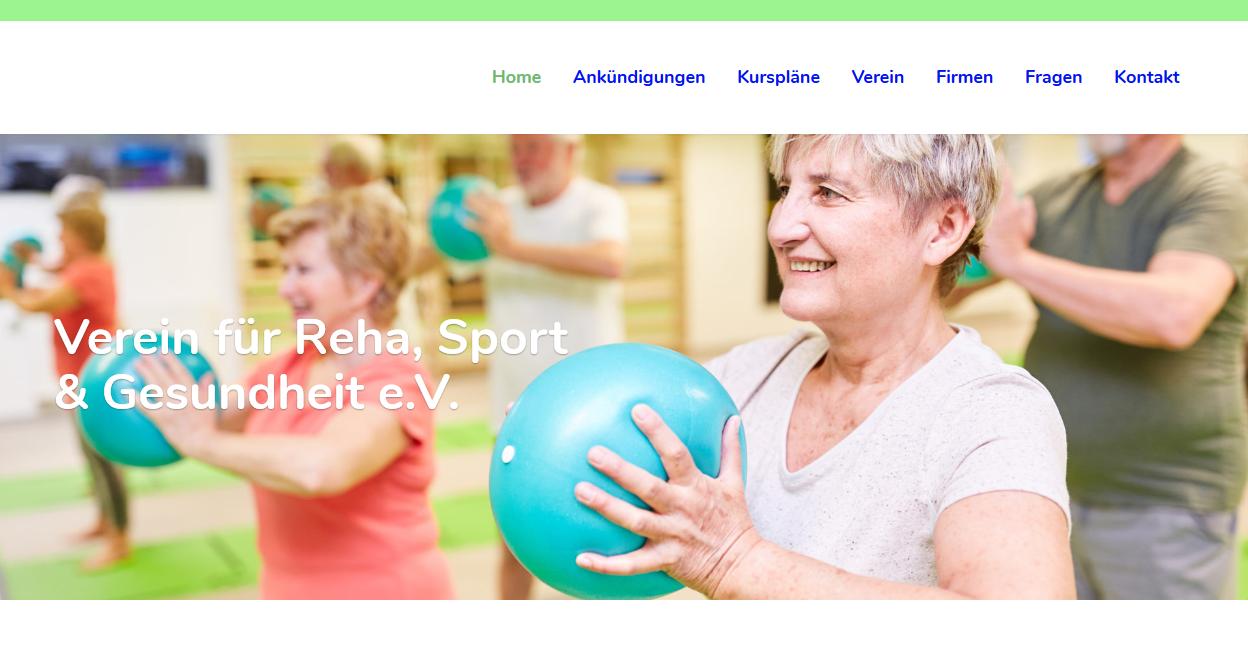 Reha, Sport, Gesundheit