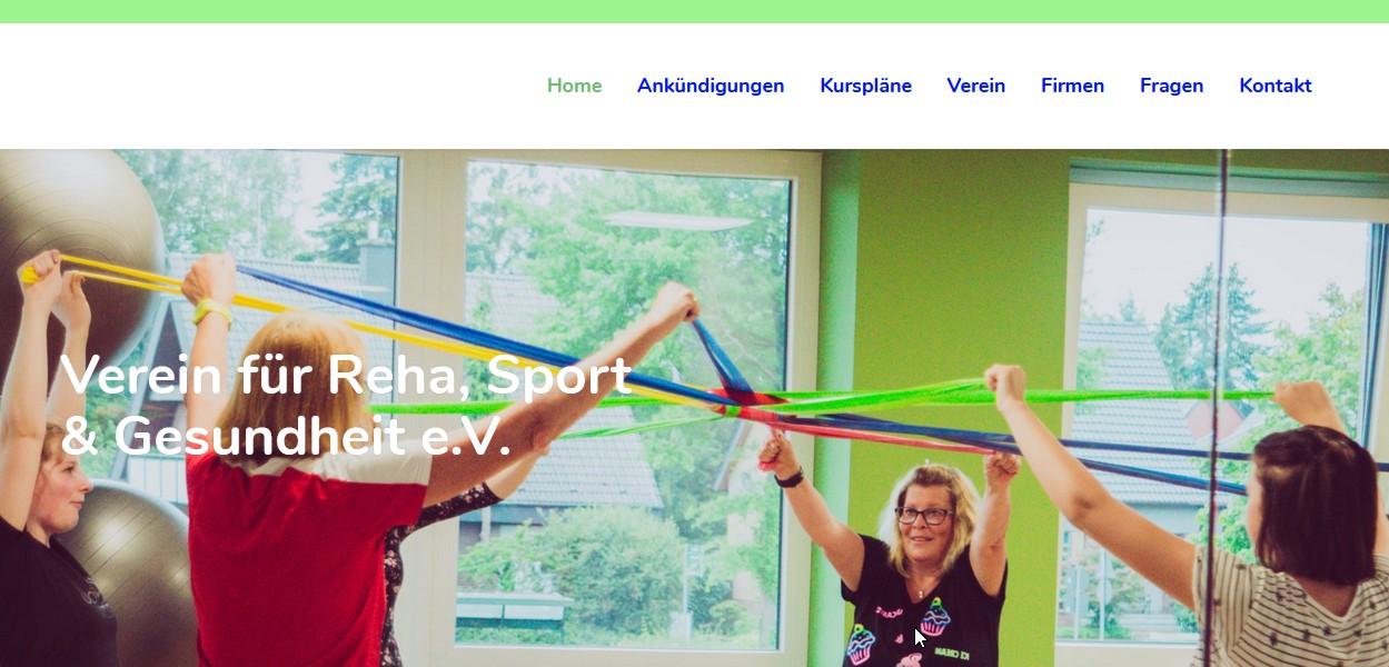 Verein Reha, Sport und Gesundheit